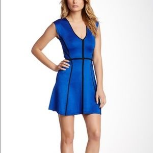 French Connection - Spotlight Piped Knit Dress